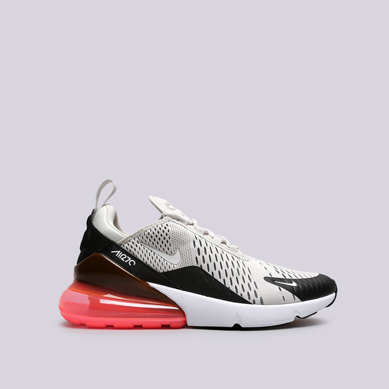 Кроссовки Nike Air Max 270Кроссовки lifestyle<br>Текстиль, резина, пластик<br><br>Цвет: Бежевый<br>Размеры US: 8<br>Пол: Мужской
