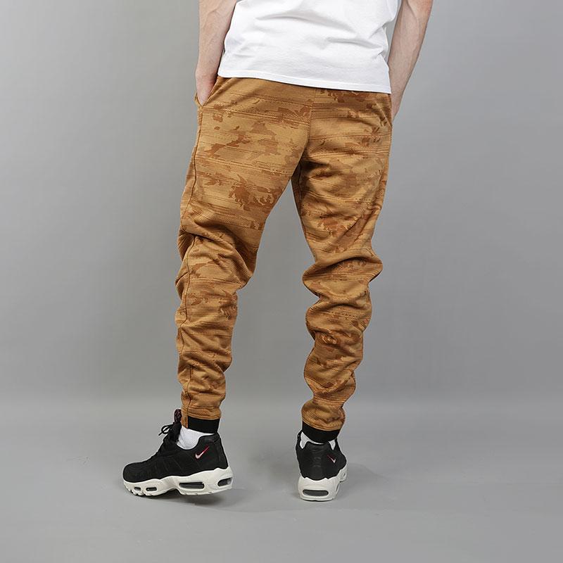 c9576014 мужские коричневые брюки nike dri-fit kyrie printed basketball trousers  890655-722 - цена