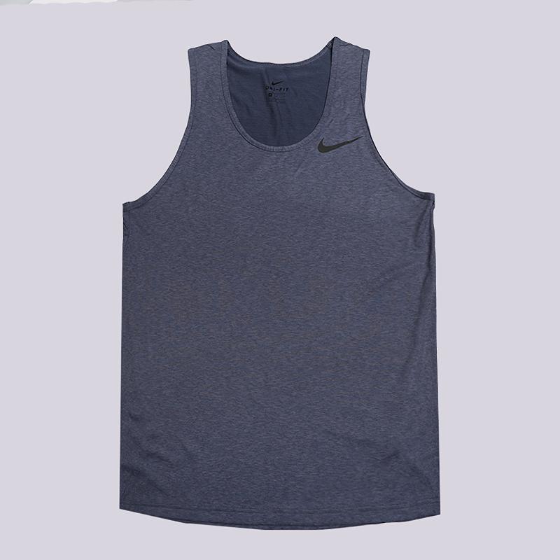 Майка Nike Dri-FIT Breathe VestБезрукавки<br>100% полиэстер<br><br>Цвет: Синий<br>Размеры US: S;XL;2XL<br>Пол: Мужской