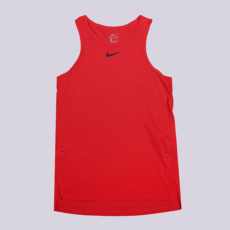 Майка Nike Breathe Elite Sleeveless Basketball TopБезрукавки<br>75% полиэстер, 13% хлопок, 12% вискоза<br><br>Цвет: Красный<br>Размеры US: S;M;XL;2XL<br>Пол: Мужской