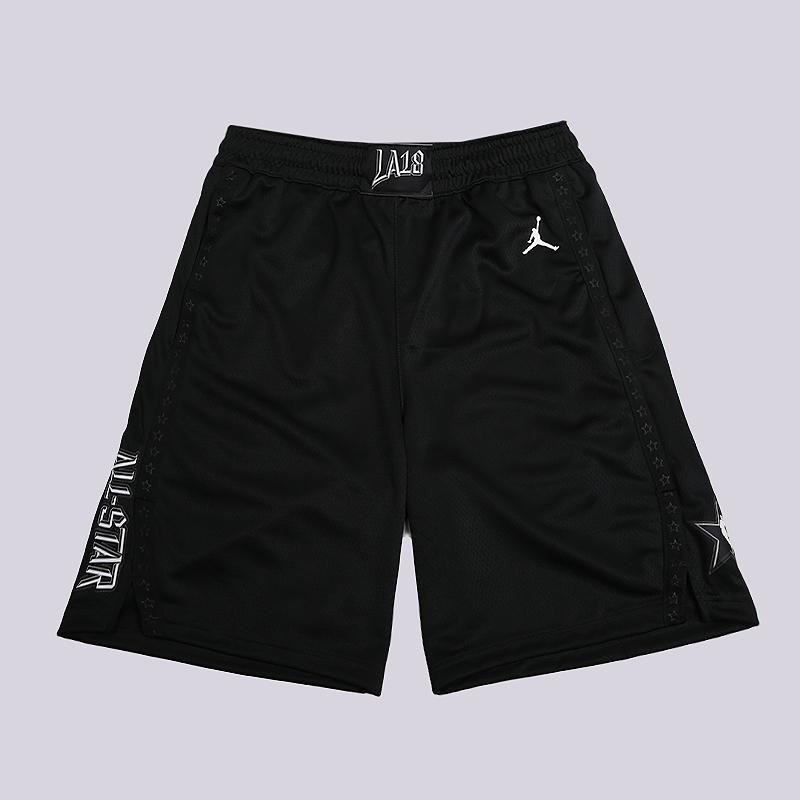 Шорты Jordan AS Icon Edition Swingman  NBA ShortsШорты<br>100% полиэстер<br><br>Цвет: Черный<br>Размеры US: S;M;L<br>Пол: Мужской