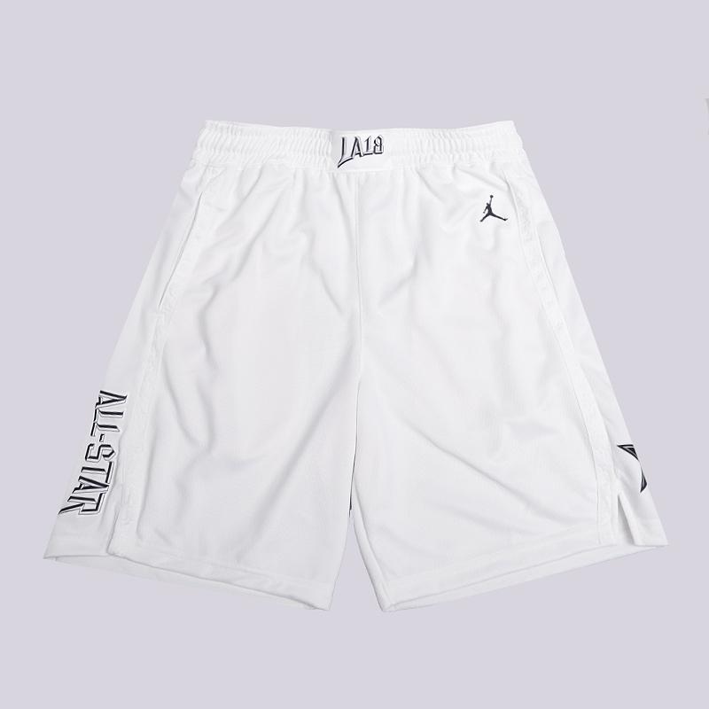 Шорты Jordan AS Icon Edition Swingman NBA ShortsШорты<br>100% полиэстер<br><br>Цвет: Белый<br>Размеры US: S;M;L;XL;2XL<br>Пол: Мужской