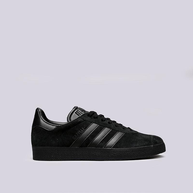 e81be626 мужские чёрные кроссовки adidas gazelle CQ2809 - цена, описание, фото 1