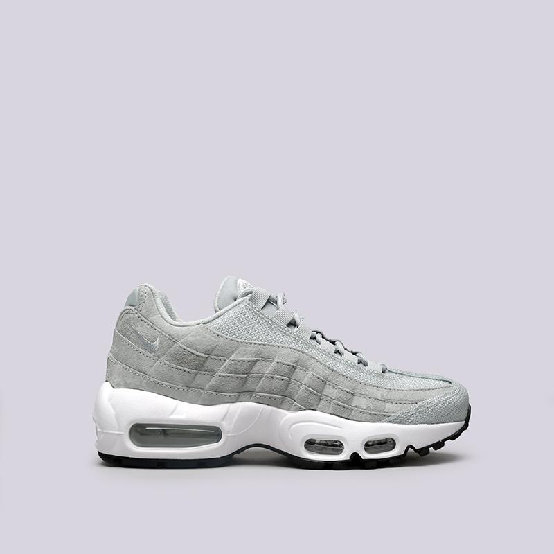 Кроссовки Nike WMNS Air Max 95 PRMКроссовки lifestyle<br>Кожа, пластик, текстиль, резина<br><br>Цвет: Голубой<br>Размеры US: 6;6.5;7;7.5;8;8.5<br>Пол: Женский