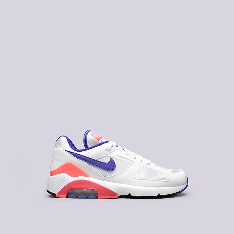 Кроссовки Nike WMNS Air Max 180Кроссовки lifestyle<br>Текстиль, резина<br><br>Цвет: Белый<br>Размеры US: 6;6.5;7;7.5;8;9<br>Пол: Женский