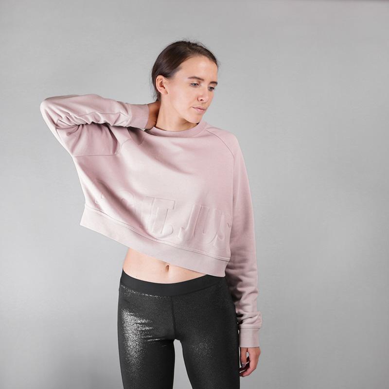 Толстовка Nike Longsleeve Training SweatshirtТолстовки свитера<br>Полиэстер, хлопок, эластан<br><br>Цвет: Розовый<br>Размеры US: XS;S;M;L<br>Пол: Женский