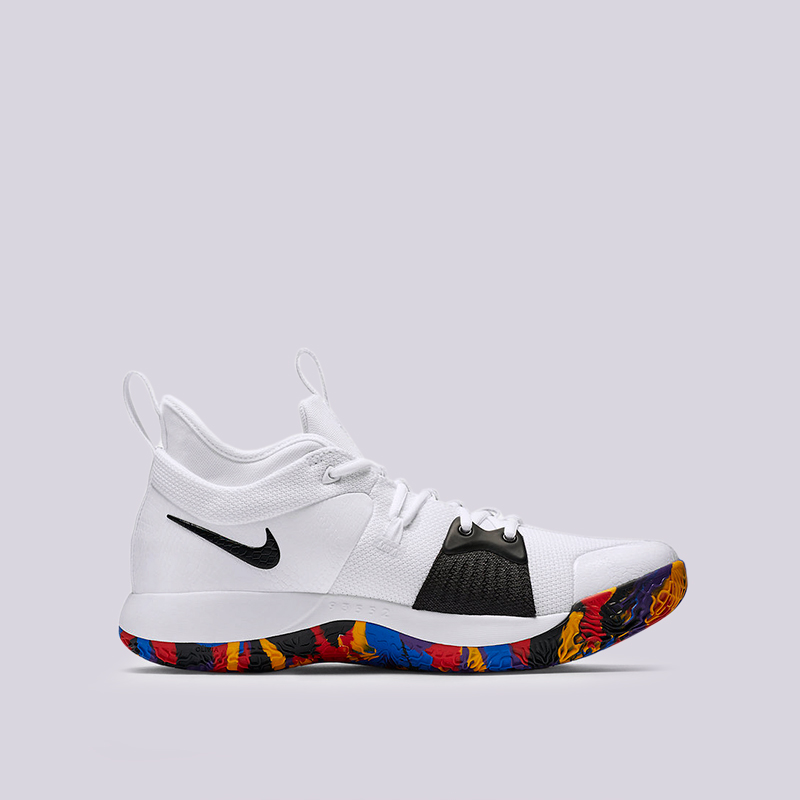Кроссовки Nike PG 2 NCAAКроссовки баскетбольные<br><br><br>Цвет: Белый<br>Размеры US: 8;8.5;9;9.5;10;10.5;11;11.5;12;12.5;13;14;15;17<br>Пол: Мужской