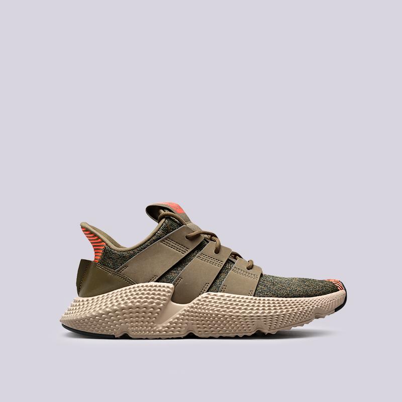 Кроссовки adidas ProphereКроссовки lifestyle<br>Кожа, текстиль, резина<br><br>Цвет: Оливковый<br>Размеры UK: 8;8.5<br>Пол: Мужской