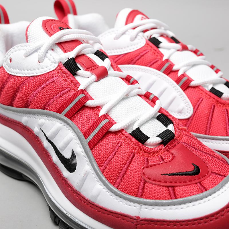 Купить женские красные  кроссовки nike wmns air max 98 в магазинах Streetball изображение - 4 картинки