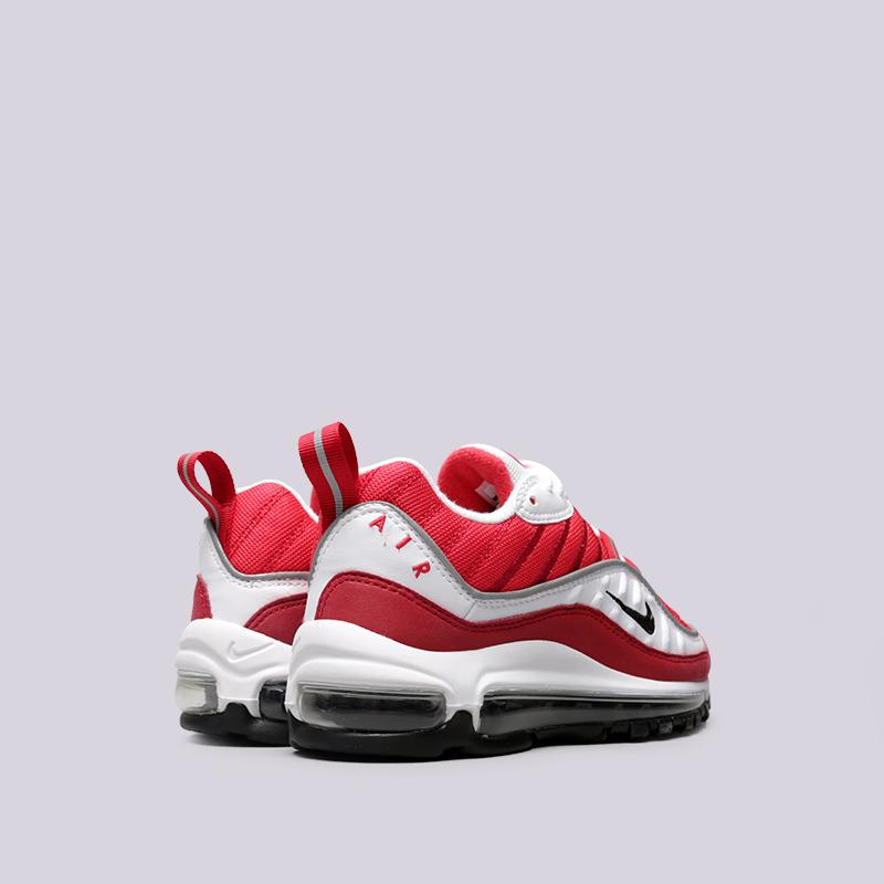 Купить женские красные  кроссовки nike wmns air max 98 в магазинах Streetball изображение - 5 картинки