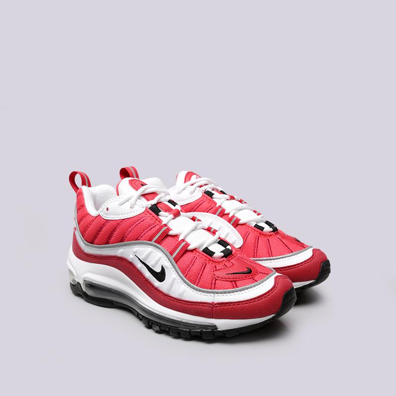 Купить женские красные  кроссовки nike wmns air max 98 в магазинах Streetball изображение - 3 картинки