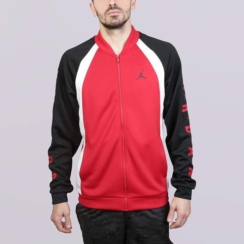 Куртка Jordan Jumpman JacketКуртки, пуховики<br>Полиэстер<br><br>Цвет: Чёрный, красный, белый<br>Размеры US: S;M;L;XL;2XL<br>Пол: Мужской
