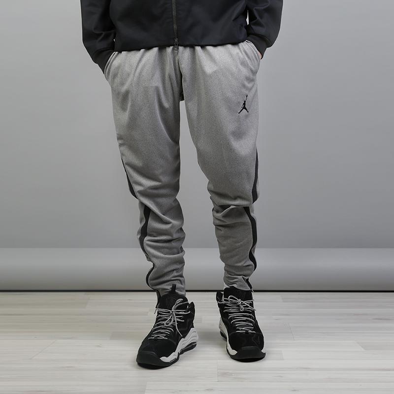 Брюки Jordan Dry 23 Alpha TrainingБрюки и джинсы<br>100% полиэстер<br><br>Цвет: Серый<br>Размеры US: 2XL;XL;L;M;S<br>Пол: Мужской