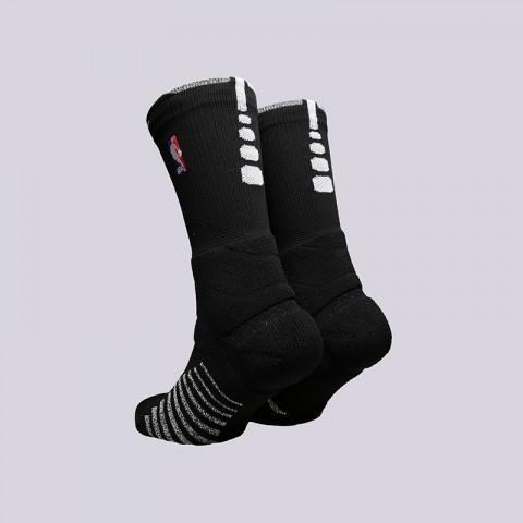 мужские чёрные  носки nike grip power crew SX6072-010 - цена, описание, фото 2