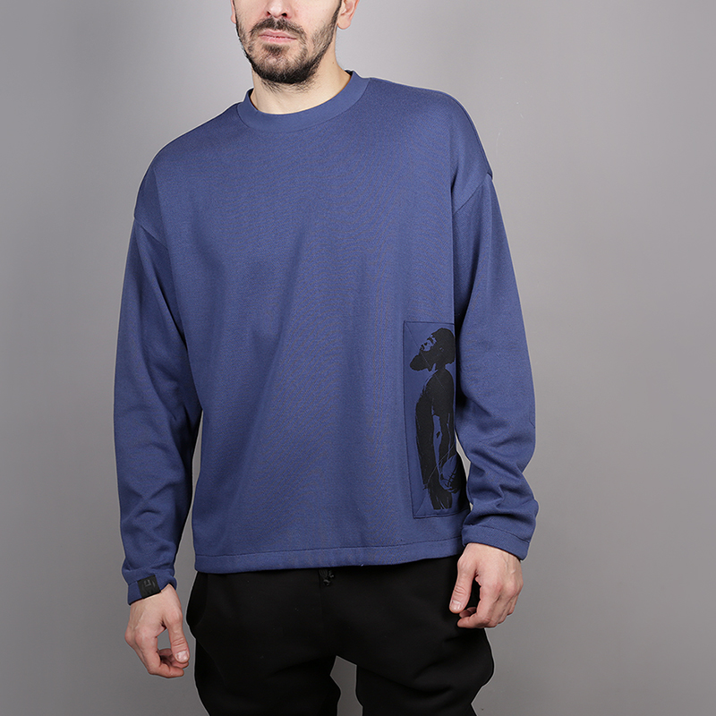 Толстовка adidas Harden SWT SHRTТолстовки свитера<br>77% полиэстер, 23% хлопок<br><br>Цвет: Синий<br>Размеры UK: S;M;L;XL;2XL<br>Пол: Мужской