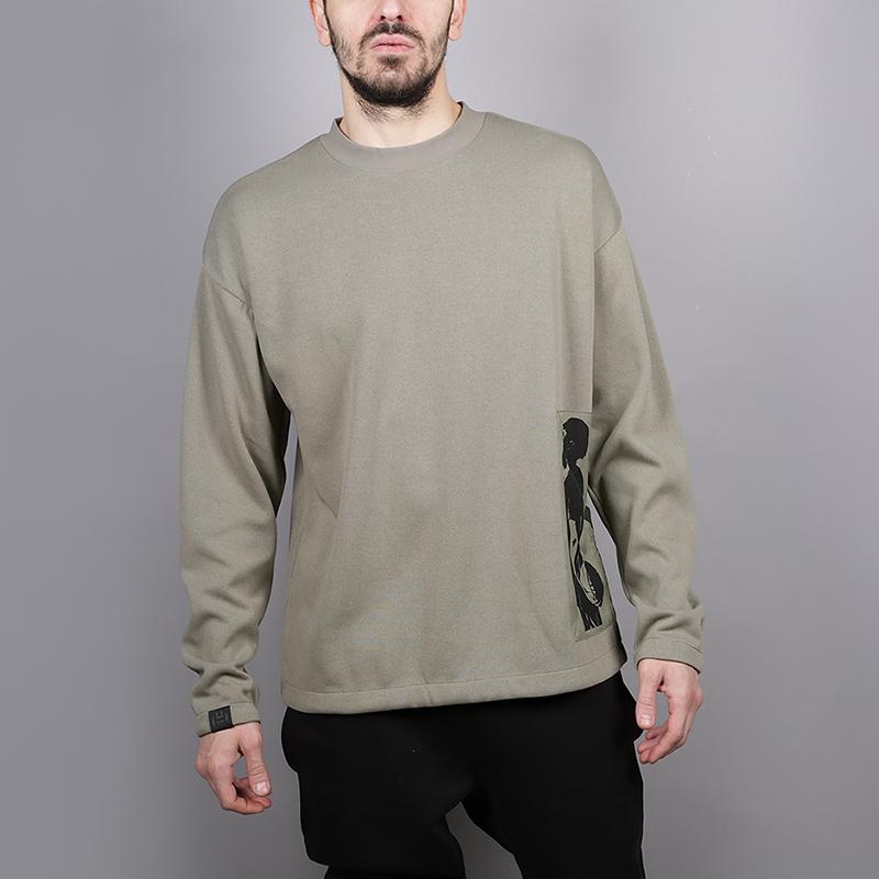 Толстовка adidas Harden SWT SHRTТолстовки свитера<br>77% полиэстер, 23% хлопок<br><br>Цвет: Зеленый<br>Размеры UK: S;M;L;XL<br>Пол: Мужской