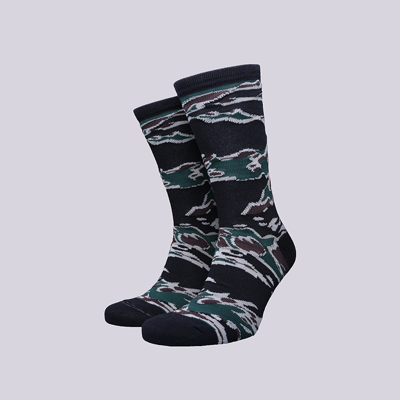 мужские камуфляж  носки carhartt wip camo tiger i022783-Camo Tiger - цена, описание, фото 1