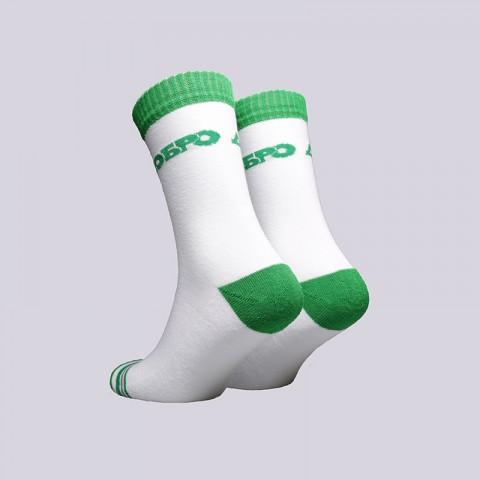 мужские белые  носки запорожец heritage добро Добро мхр/бел/зел - цена, описание, фото 2