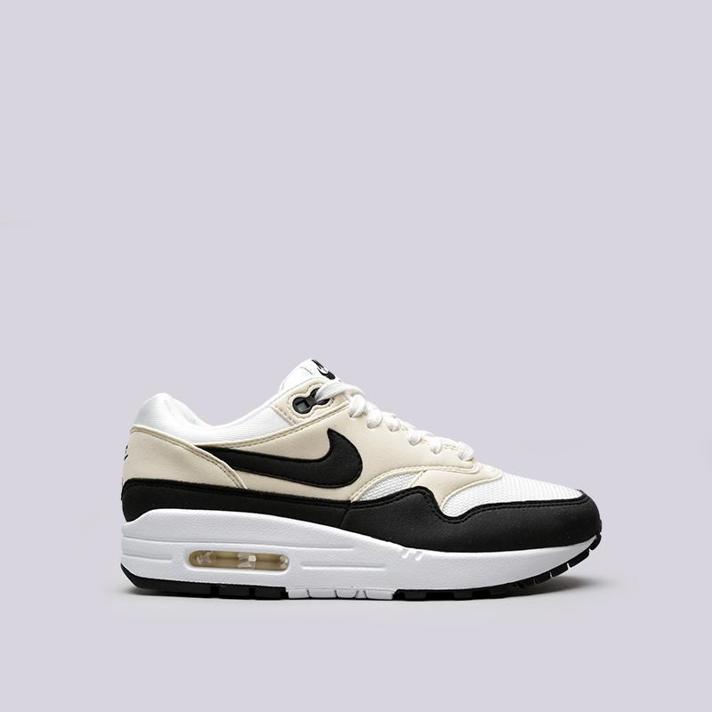 Кроссовки Nike WMNS Air Max 1Кроссовки lifestyle<br>Синтетика, текстиль, резина<br><br>Цвет: Бежевый<br>Размеры US: 6;6.5;7;7.5;8;8.5<br>Пол: Женский