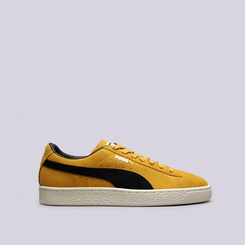 Кроссовки Puma Suede Classic ArchiveКроссовки lifestyle<br>Кожа, текстиль, синтетика, резина<br><br>Цвет: Жёлтый<br>Размеры UK: 7;7.5;8;8.5;9;10.5;11;12<br>Пол: Мужской