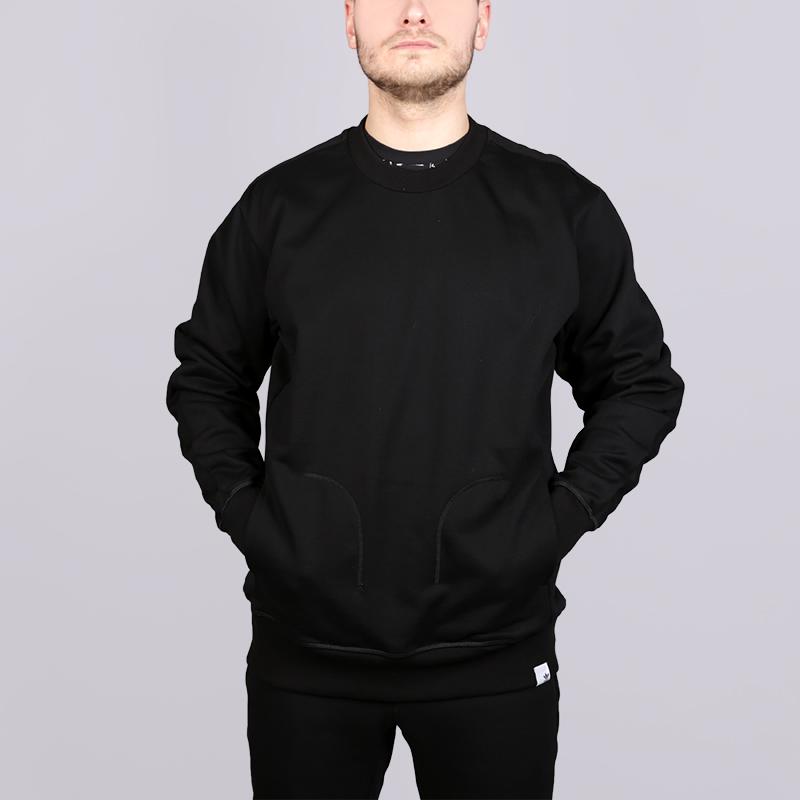 Толстовка adidas X By O CrewТолстовки свитера<br>95% хлопок, 5% эластан<br><br>Цвет: Черный<br>Размеры UK: L;XL<br>Пол: Мужской