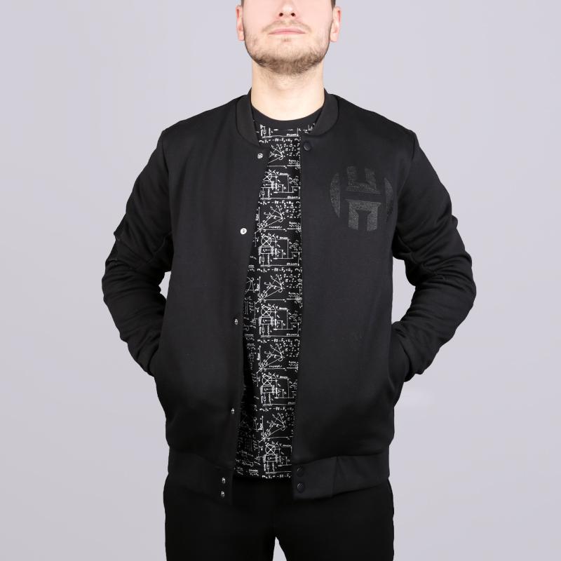 Куртка adidas Harden VSTY JKTКуртки, пуховики<br>70% хлопок, 30% полиэстер<br><br>Цвет: Черный<br>Размеры UK: S;M;L;XL;2XL<br>Пол: Мужской