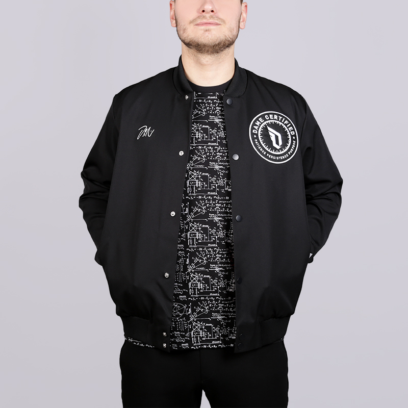 Куртка adidas Dame VRTY JKTКуртки, пуховики<br>100% полиэстер<br><br>Цвет: Черный<br>Размеры UK: S;L;XL;2XL<br>Пол: Мужской