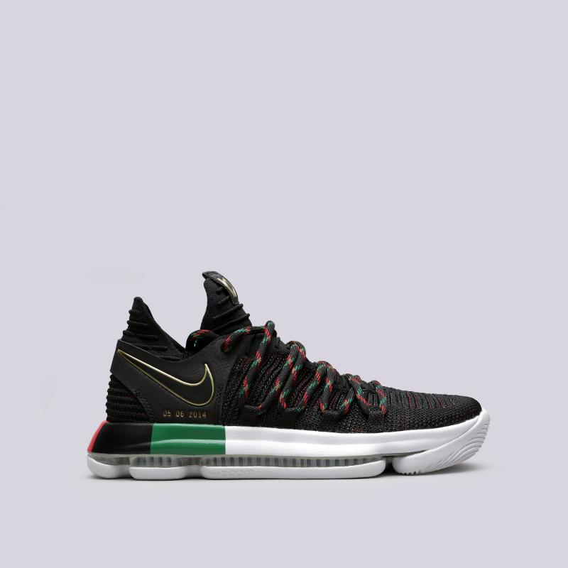 Кроссовки Nike Zoom KD10 LMTDКроссовки баскетбольные<br>Текстиль, резина<br><br>Цвет: Чёрный<br>Размеры US: 8;8.5;9;9.5;10;10.5;11;11.5;12;12.5<br>Пол: Мужской