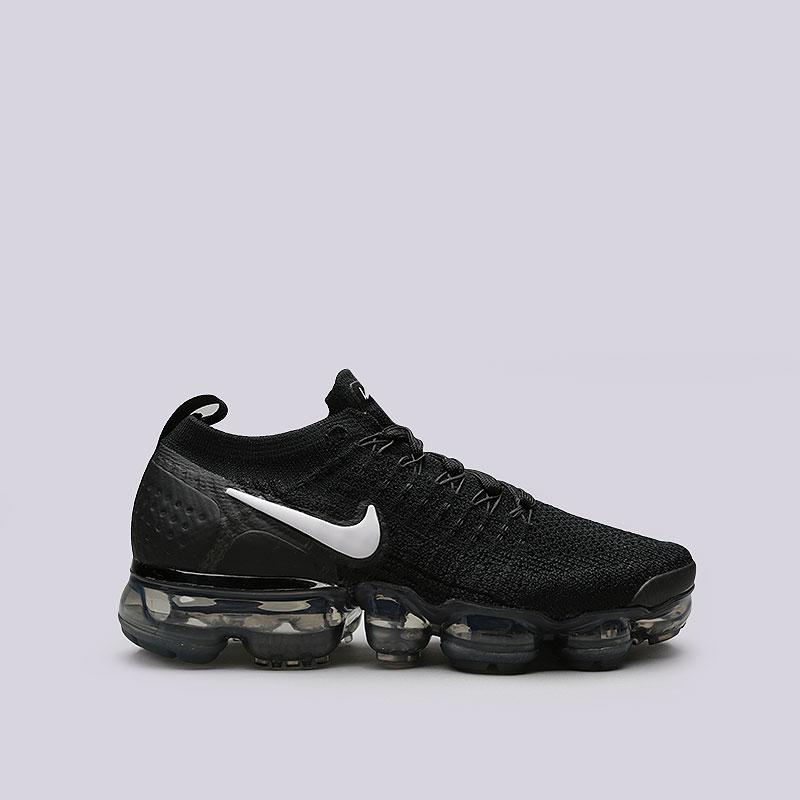 Кроссовки Nike WMNS Air Vapormax Flyknit 2Кроссовки lifestyle<br>Текстиль, резина, пластик<br><br>Цвет: Черный<br>Размеры US: 6;6.5;7;7.5;8;8.5<br>Пол: Женский