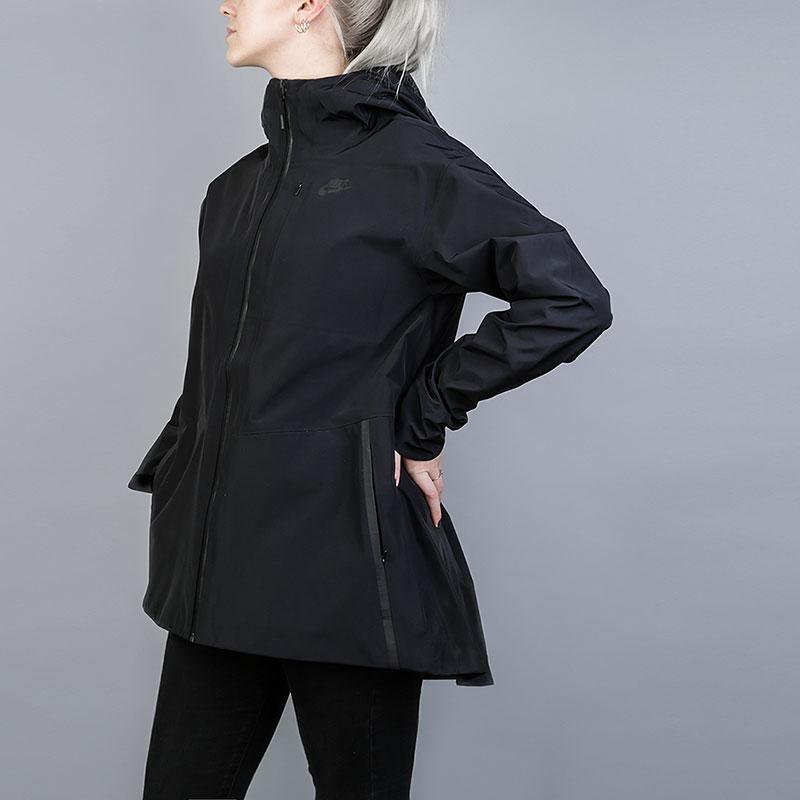 bb00ce2c женскую черную куртку nike tech women's jacket 883489-010 - цена, описание,  фото