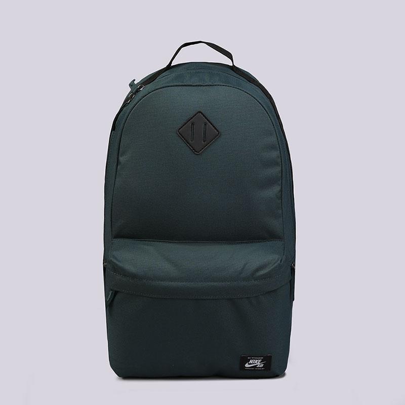 Рюкзак Nike SB Icon Skateboarding Backpack 26LСумки, рюкзаки<br>100% полиэстер<br><br>Цвет: Изумрудный<br>Размеры US: OS