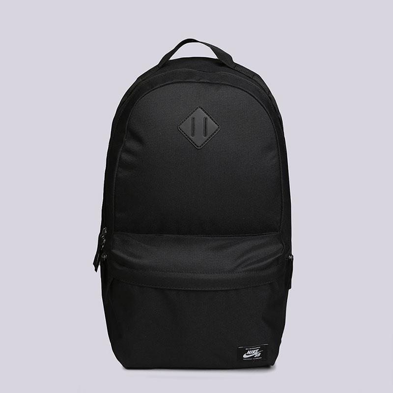Рюкзак Nike SB Icon Skateboarding Backpack 26LСумки, рюкзаки<br>100% полиэстер<br><br>Цвет: Черный<br>Размеры US: OS