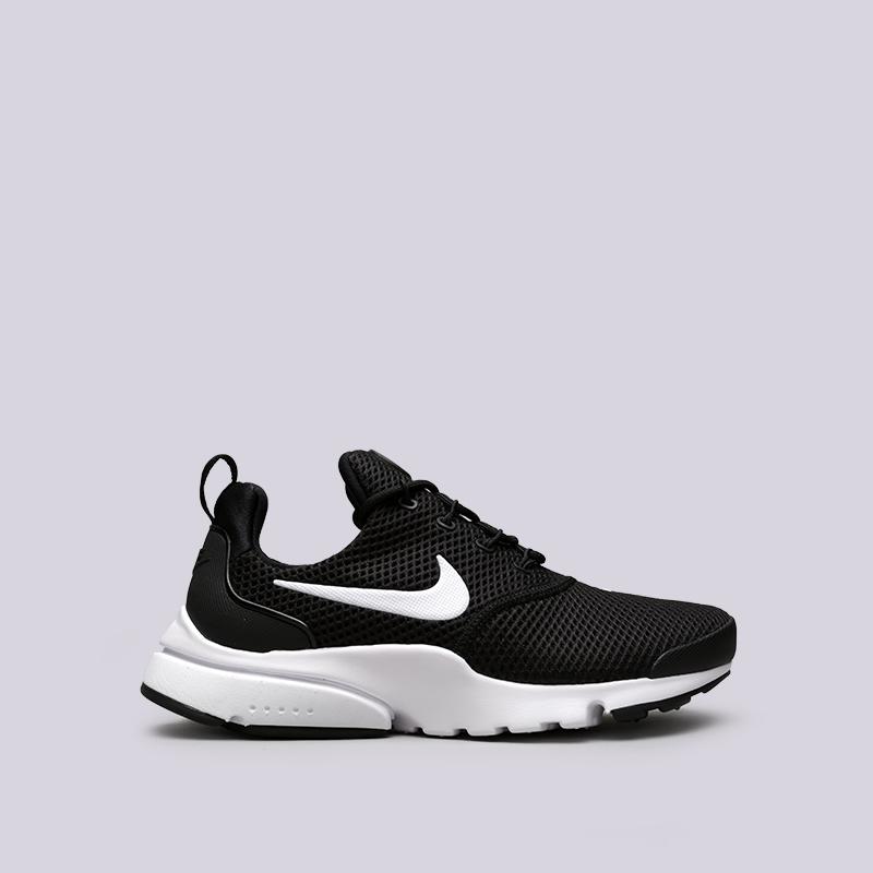 Кроссовки Nike WMNS Presto FlyКроссовки lifestyle<br>Текстиль, пластик, резина<br><br>Цвет: Чёрный<br>Размеры US: 6;6.5;7;7.5;8;8.5;9<br>Пол: Женский