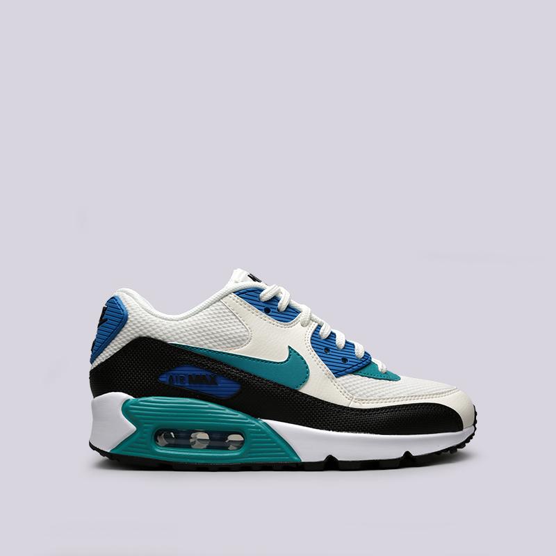 Кроссовки Nike WMNS Air Max 90Кроссовки lifestyle<br>Кожа, синтетика, текстиль, резина<br><br>Цвет: Белый<br>Размеры US: 5.5;6;6.5;7;7.5;8;8.5;9<br>Пол: Женский