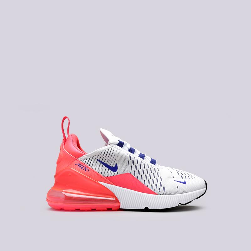 женские белые кроссовки nike wmns air max 270 AH6789-101 - цена, описание, e3e6c7ce082