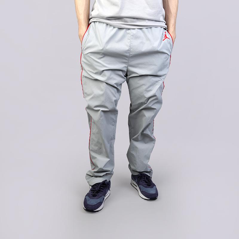 мужские серые брюки jordan aj3 wvn pant vault 897493-012 - цена, описание, 4c3a2eead87