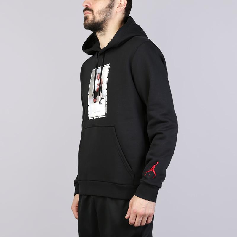 Толстовка Jordan Flight Fleece AJ3Толстовки свитера<br>Хлопок, полиестер<br><br>Цвет: Чёрный<br>Размеры US: S;M;L;XL;2XL<br>Пол: Мужской