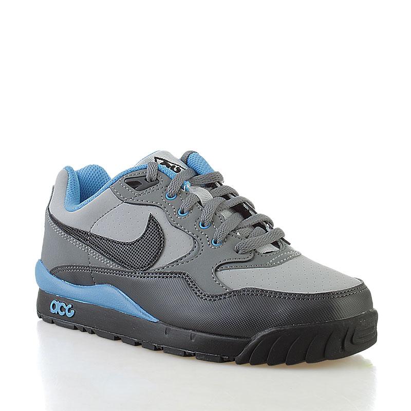 Купить детские серые, черные  кроссовки nike wildwood gs в магазинах Streetball изображение - 1 картинки