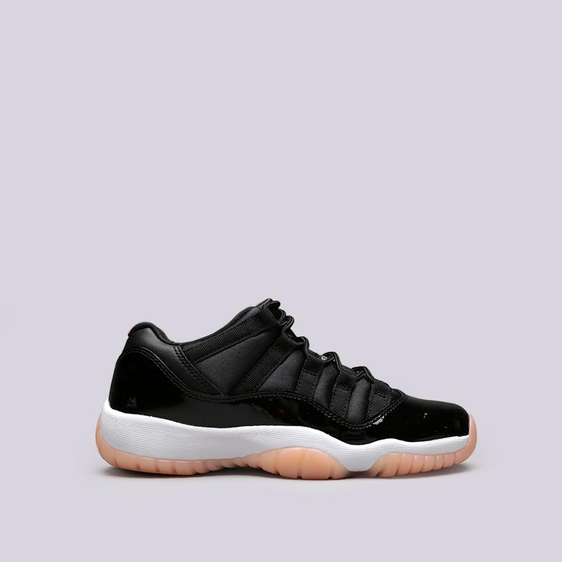 Кроссовки Jordan XI Retro Low BGКроссовки lifestyle<br>Кожа, текстиль, синтетика, резина<br><br>Цвет: Чёрный<br>Размеры US: 3.5Y;4Y;4.5Y<br>Пол: Женский