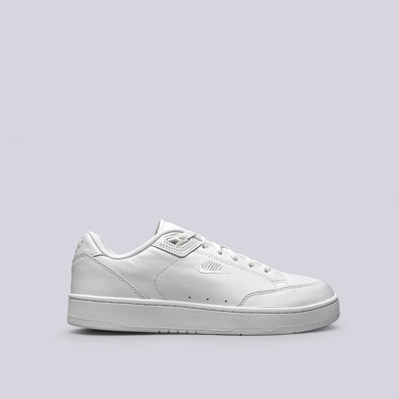 Кроссовки Nike Grandstand II PremiumКроссовки lifestyle<br>Кожа, текстиль, резина<br><br>Цвет: Белый<br>Размеры US: 11.5;8;8.5;9.5<br>Пол: Мужской