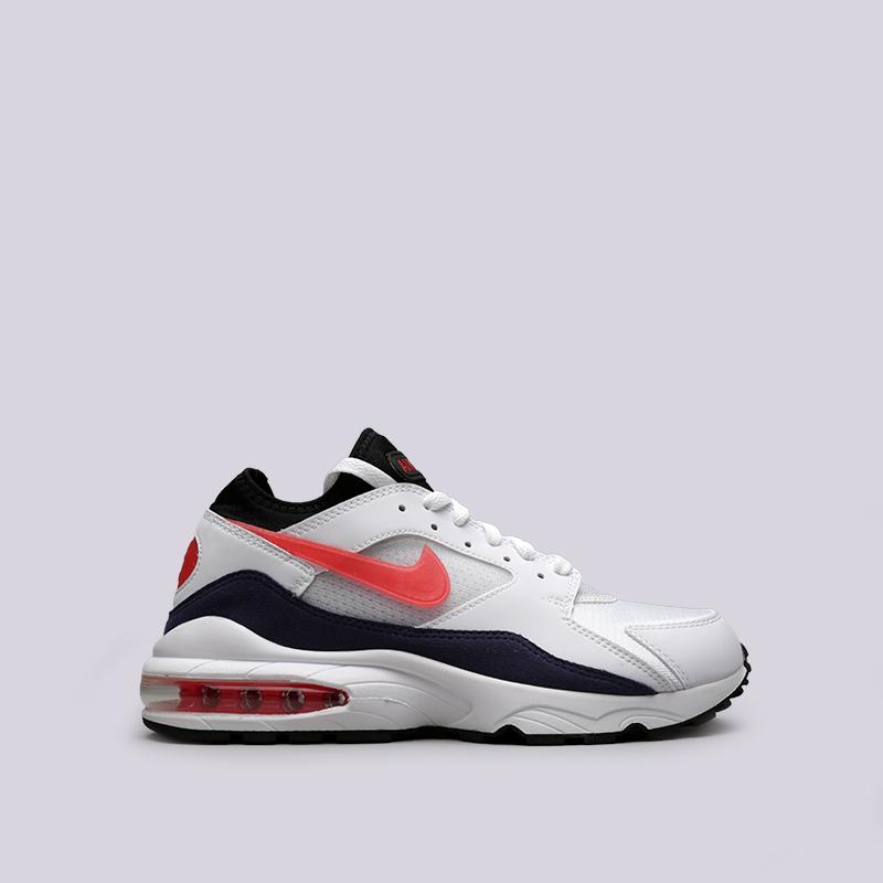 Кроссовки Nike Air Max 93Кроссовки lifestyle<br>Текстиль, резина, пластик<br><br>Цвет: Белый<br>Размеры US: 8;9.5;10;10.5<br>Пол: Мужской