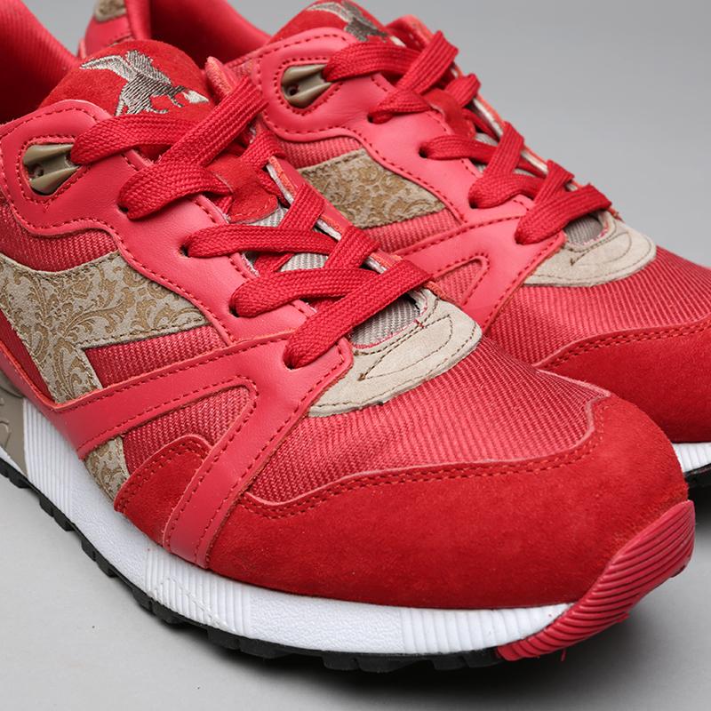 красные  кроссовки diadora n9000 mii 173070-45034 - цена, описание, фото 5