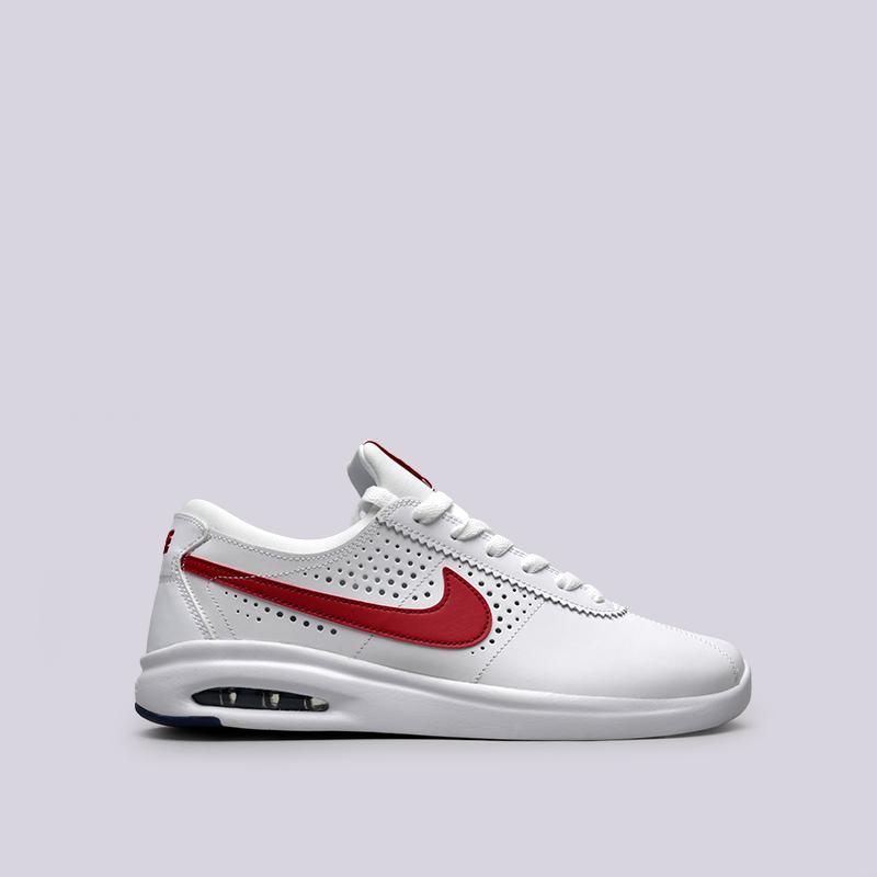 046c03cf4063 мужские белые кроссовки nike sb air max bruin vapor 882097-100 - цена