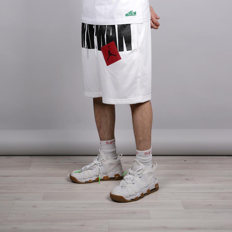 Шорты Jordan Jumpman AirШорты<br>Полиестер<br><br>Цвет: Белый<br>Размеры US: S;M;L;XL;2XL<br>Пол: Мужской