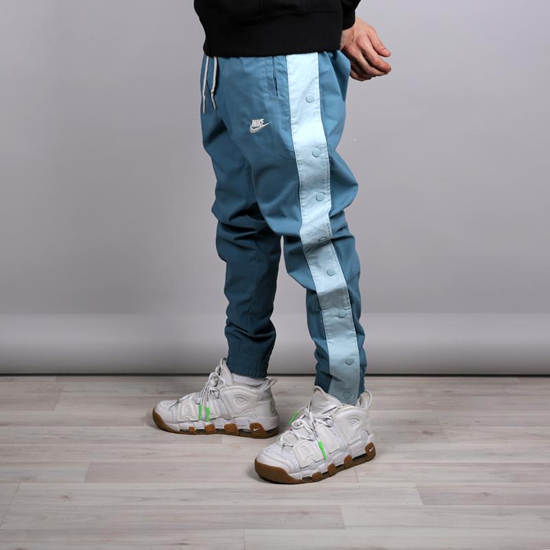 ef6b3c1d мужские голубые брюки nike sportswear joggers af1 AH4068-407 - цена,  описание, фото