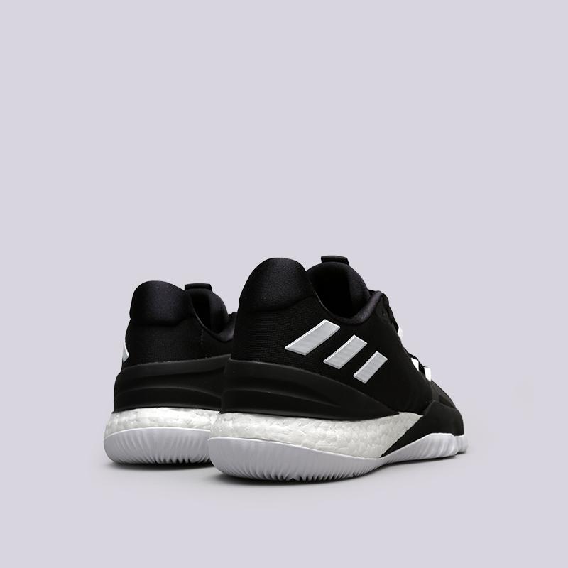 318c8019 мужские чёрные кроссовки adidas crazy light boost 2018 DB1070 - цена,  описание, фото 4