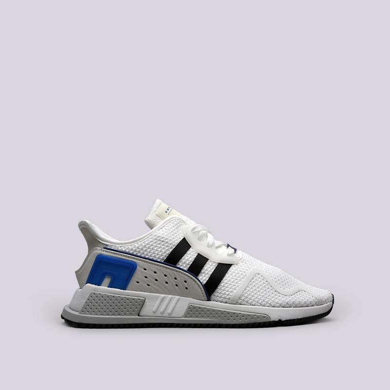 Кроссовки adidas EQT Cushion ADVКроссовки lifestyle<br>Текстиль, кожа, резина<br><br>Цвет: Белый<br>Размеры UK: 10;9;7.5;10.5;9.5;8;11;8.5;11.5<br>Пол: Мужской