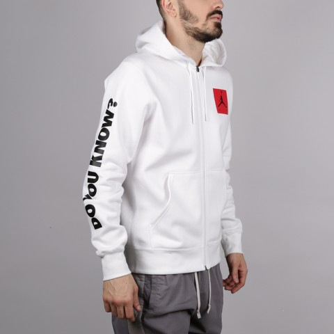 Толстовка Jordan AJ3 Flight Fleece Full Zip Hoodie
