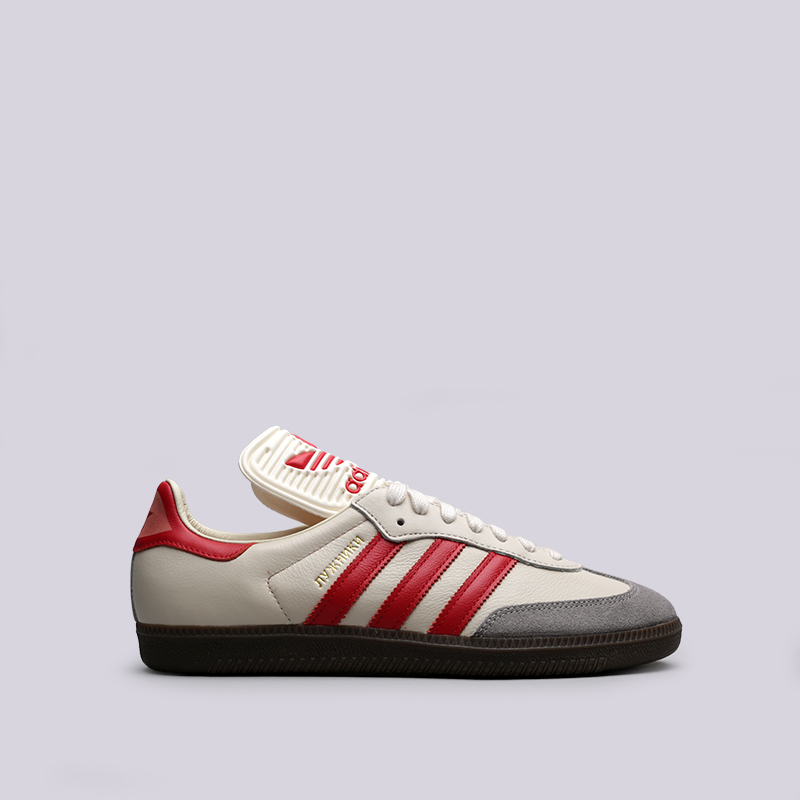 мужские бежевые кроссовки adidas samba classic og CQ2216 - цена, описание,  фото 1 6a75c0f68da