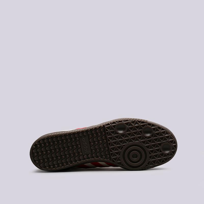 мужские бежевые кроссовки adidas samba classic og CQ2216 - цена, описание,  фото 2 6f0901f25a6